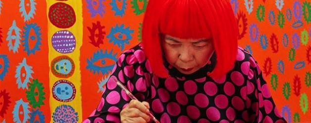 Yayoi Kusama ( les pois colorés )
