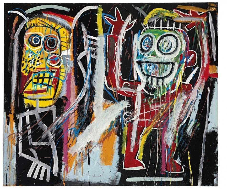 """Jean-Michel Basquiat """"Dustheads"""" 2"""