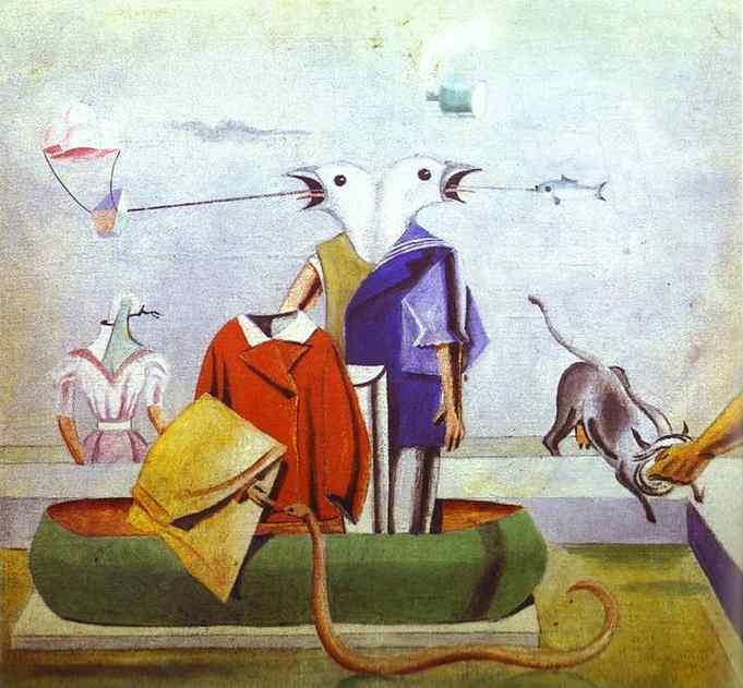 Max Ernst - les oiseaux