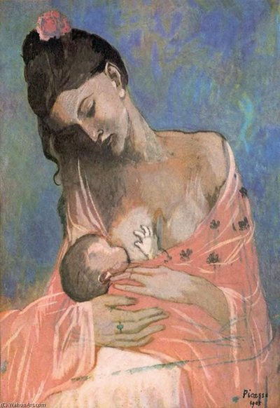 pablo_picasso-mother_and_child
