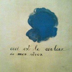 Joan Miró, «La couleur de mes rêves».