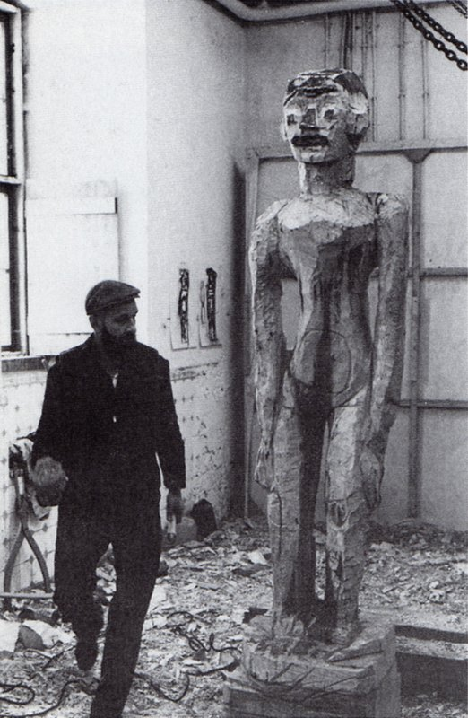 Baselitz Derneburg 1983-b